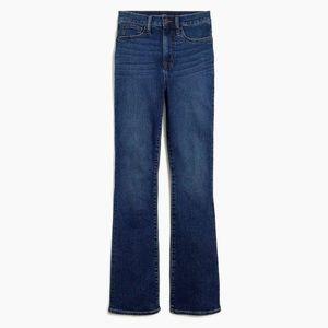 J. Crew high rise boot cut jeans 30